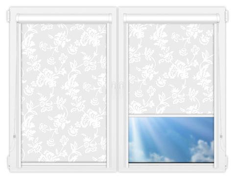 Рулонные кассетные шторы УНИ - Калифорния-3 на пластиковые окна