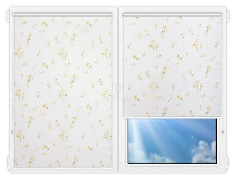 Рулонные шторы Мини - Камила-4 на пластиковые окна