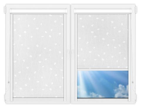 Рулонные кассетные шторы УНИ - Карина-1