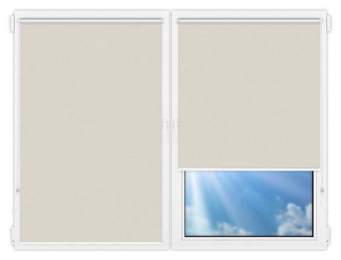 Рулонные шторы Мини - Лин-1 на пластиковые окна