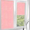 Рулонные кассетные шторы УНИ - Лусто светло-розовый