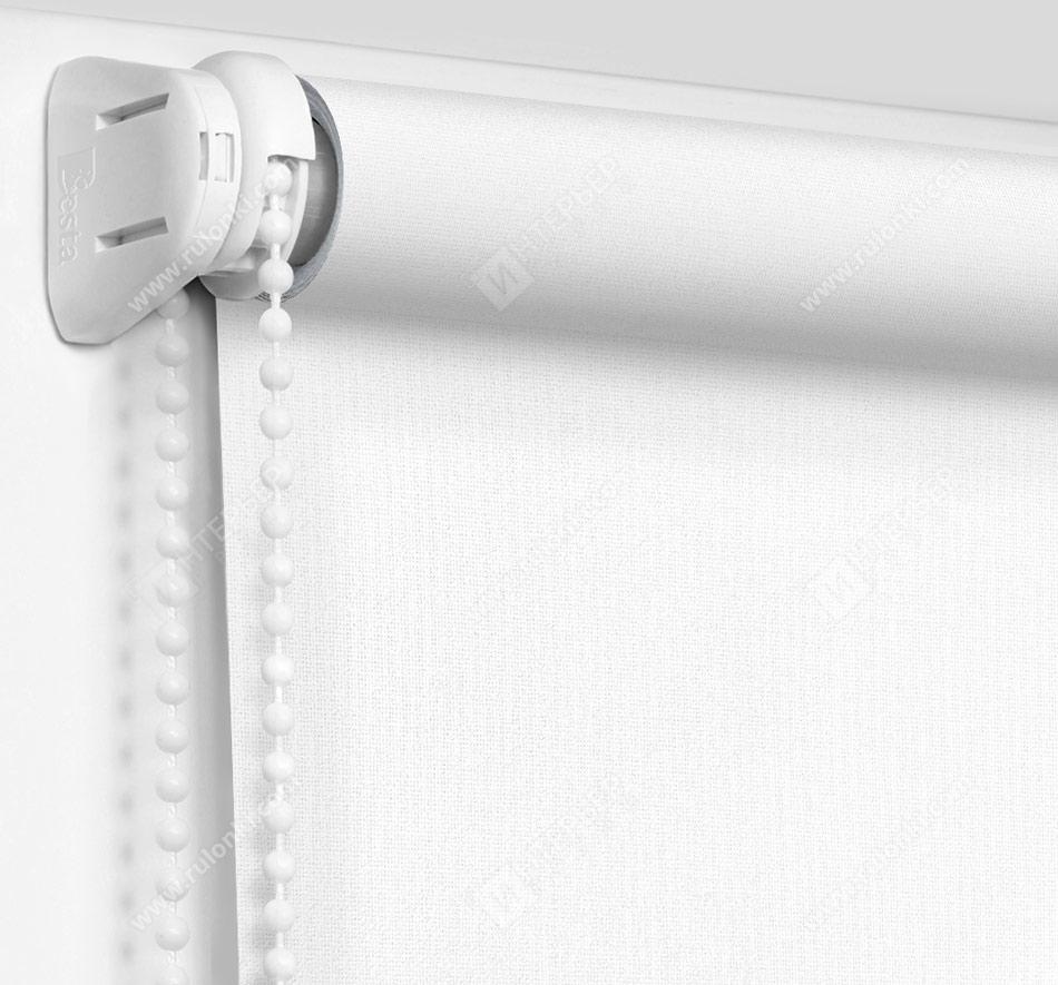 Рулонные шторы Мини - Металлик белый