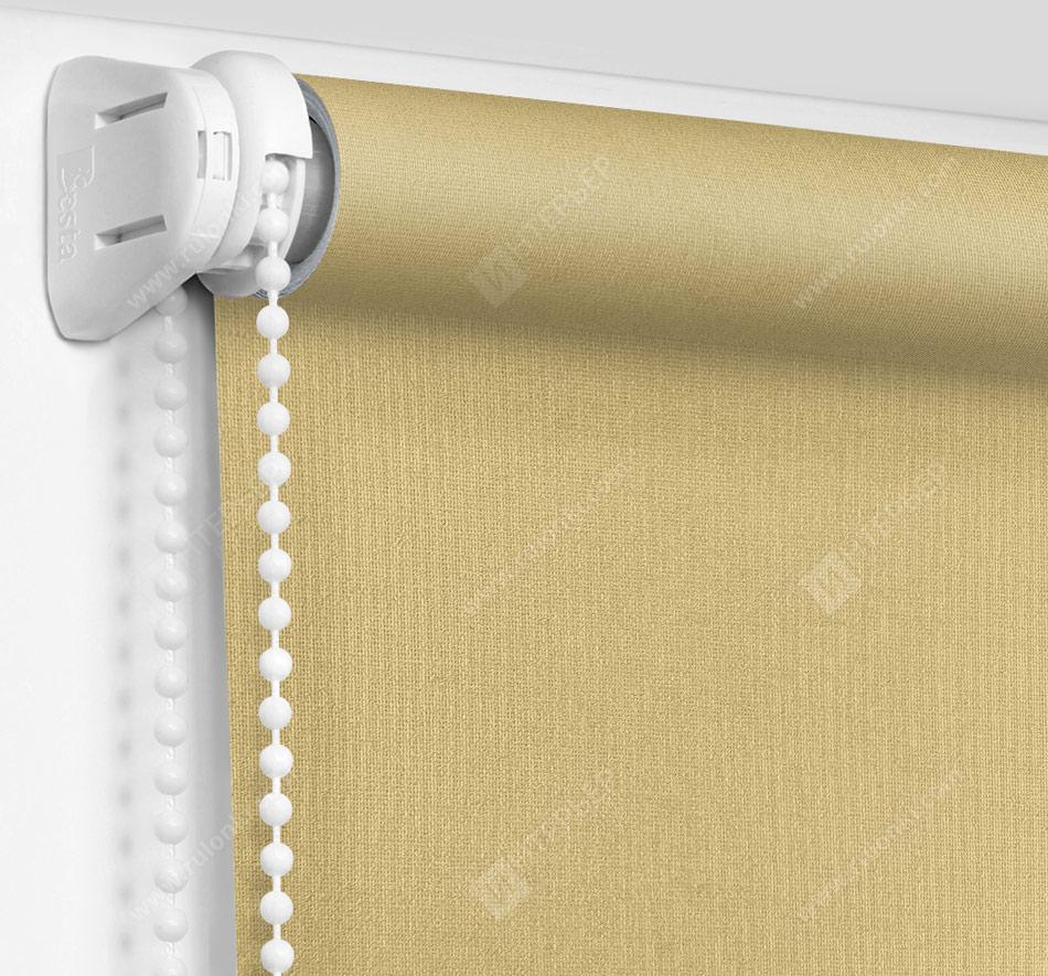 Рулонные шторы Мини - Металлик фисташковый