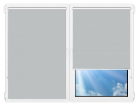 Рулонные шторы Мини - Мюнхен-10 на пластиковые окна