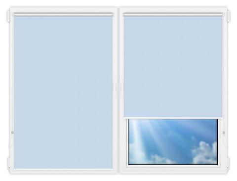 Рулонные шторы Мини - Мюнхен-блэкаут-57 на пластиковые окна