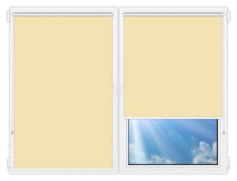 Рулонные шторы Мини - Мюнхен-блэкаут-58 на пластиковые окна