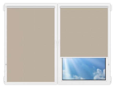 Рулонные шторы Мини - Мюнхен-блэкаут-66 на пластиковые окна