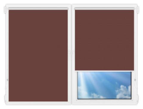 Рулонные шторы Мини - Мюнхен-блэкаут-78 на пластиковые окна