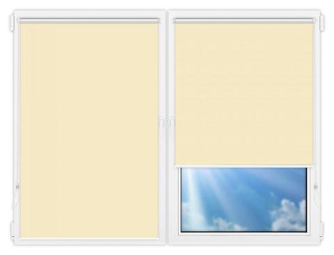 Рулонные шторы Мини - Мюнхен-перл-12 на пластиковые окна