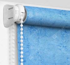 Рулонные шторы Мини - Шелк голубой