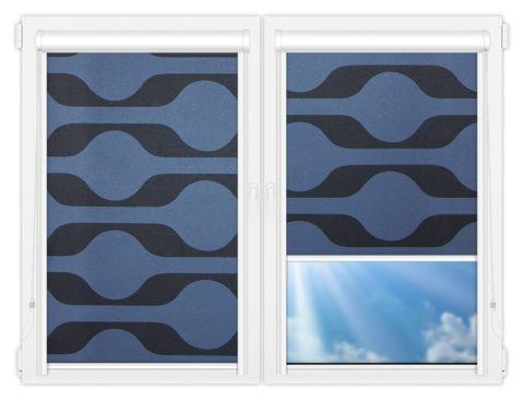 Рулонные кассетные шторы УНИ - Вискан-581