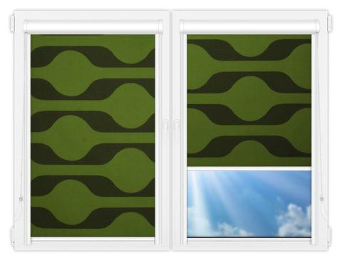 Рулонные кассетные шторы УНИ - Вискан-601
