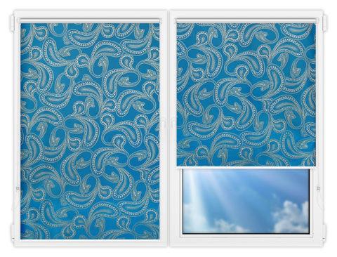 Рулонные шторы Мини - Бомбей-5 на пластиковые окна
