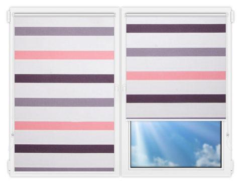 Рулонные шторы Мини - Этаж-601 на пластиковые окна