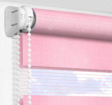 Рулонные шторы День-Ночь - Латина розовый 0010