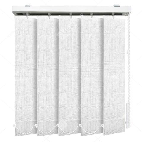Вертикальные тканевые жалюзи Аруба белый 1401