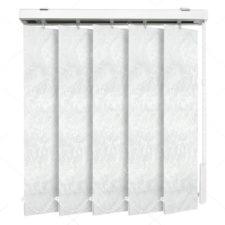 Вертикальные тканевые жалюзи Шёлк белый 4101