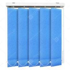 Вертикальные тканевые жалюзи Сиде голубой 3639