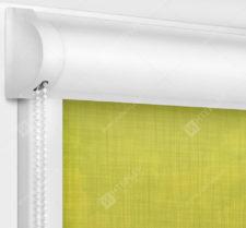 Рулонные кассетные шторы УНИ - Анже горчичный