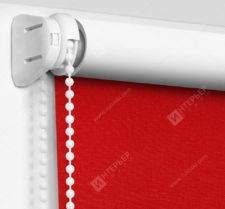 Рулонные шторы Мини - Карина Блэкаут красный