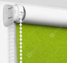 Рулонные шторы Мини - Карина Блэкаут зеленый