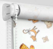 Рулонные шторы Мини - Зоопарк