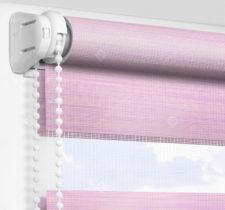 Рулонные шторы День-Ночь - Альто розовый 2749