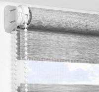 Рулонные шторы День-Ночь - Альто серый 2707