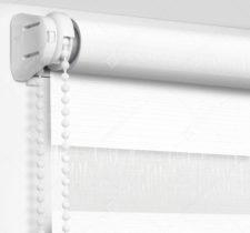 Рулонные шторы День-Ночь - Модена белый 15