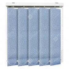 Вертикальные тканевые жалюзи Астрид синий