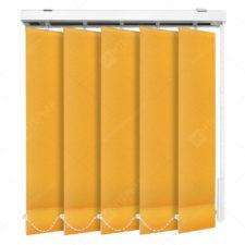 Вертикальные тканевые жалюзи Мадагаскар оранжевый