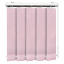 Вертикальные тканевые жалюзи Мадагаскар розовый