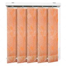 Вертикальные тканевые жалюзи Палома оранжевый
