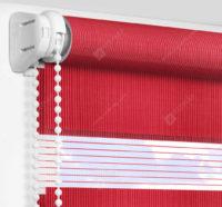 Рулонные шторы День-Ночь - Делия красный