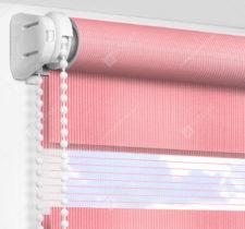 Рулонные шторы День-Ночь - Делия розовый