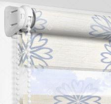 Рулонные шторы День-Ночь - Камино синий