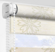 Рулонные шторы День-Ночь - Камино зеленый