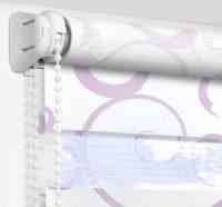 Рулонные шторы День-Ночь - Мариано розовый