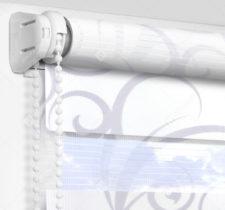Рулонные шторы День-Ночь - Мариано сиреневый
