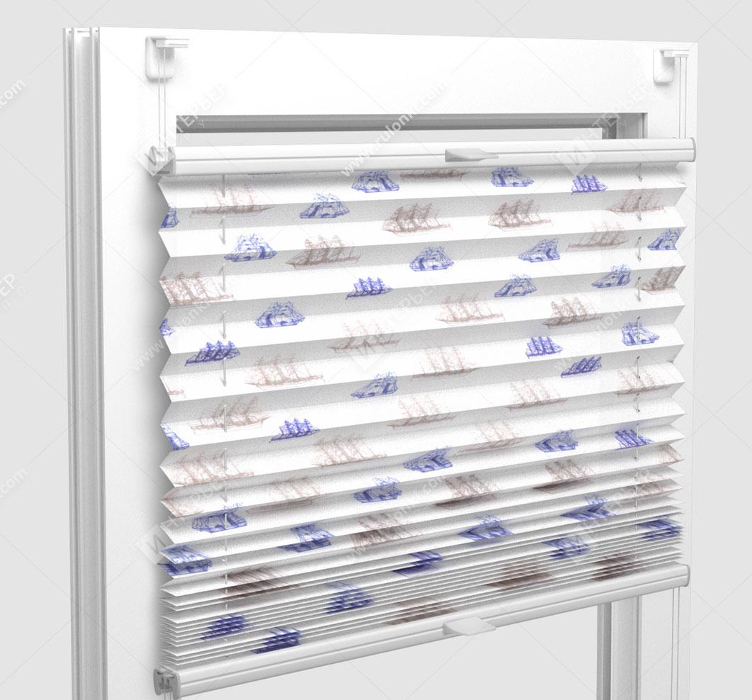 Шторы Плиссе - Того шипс на пластиковые окна